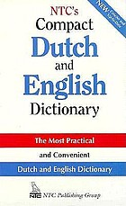 NTC's compact Dutch and English dictionary.