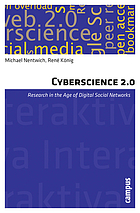 Cyberscience 2.0 : research in the age of digital social networks