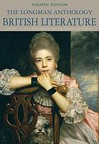 The Longman anthology of British literature. Volume 1C, The Restoration and the eighteenth century