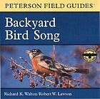 Backyard bird song