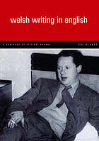 Welsh writing in English : a yearbook of critical essays. Vol. 8