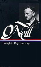 Complete plays, 1920-1931