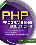 PHP programming solutions