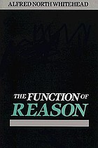 The function of reason.