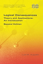 LOGICAL CONSEQUENCES : theory and applications: an introduction