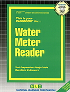 Water meter reader : test preparation study guide questions & answers.