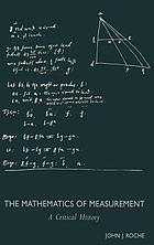 The mathematics of measurement : a critical history