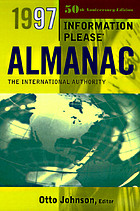 Information please almanac : atlas & yearbook, 1997.