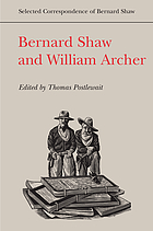 Bernard Shaw and William Archer