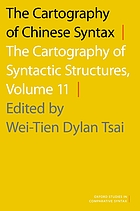 The cartography of Chinese syntax. Volume II, The cartography of syntactic structures