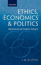 Ethics, economics, and politics : principles of public policy