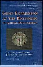 Gene expression at the beginning of animal development