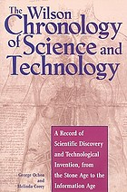 The Wilson chronology of science and technology