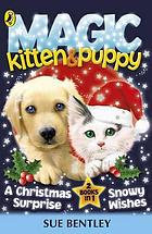 Magic kitten and magic puppy : a Christmas surprise and snowy wishes