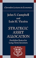 Strategic asset allocation : portfolio choice for long-term investors
