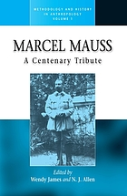 Marcel Mauss : a centenary tribute