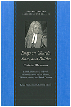 Essays on church, state, and politics