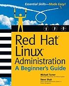Red hat Linux administration : a beginner's guide