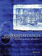 Six country dances for violin and piano