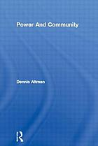 Power and community : organizational and cultural responses to AIDS