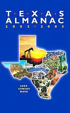 Texas Almanac 2002-2003 : 2000 Census Data.
