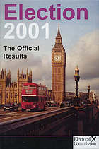 Election 2001 : the official results