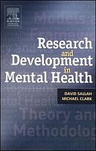 Research and development in mental health