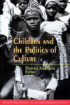 Children and the politics of culture