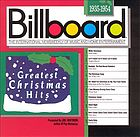 Billboard greatest Christmas hits, 1935-1954