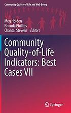 Community quality-of-life indicators : best cases VII