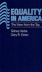 Equality in America : the view from the top