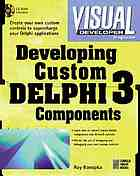 Developing custom Delphi3 components