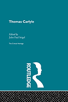 Thomas Carlyle: the critical heritage