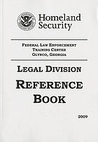 Legal Division reference book