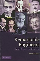 Remarkable engineers : from Riquet to Shannon