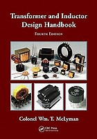 Transformer and inductor design handbook