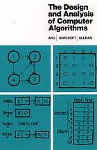 The design and analysis of computer algorithms.