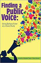 Finding a public voice : using Barbara Fister as a case study