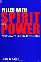 Filled with spirit and power: Protestant clergy in politics