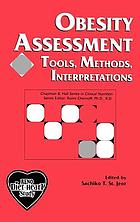 Obesity Assessment: Tools, Methods, Interpretations (A Reference Case: The RENO Diet-Heart Study) cover image