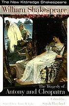 The tragedy of Antony and Cleopatra
