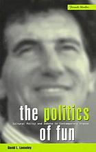 The politics of fun : cultural policy and debate in contemporary France