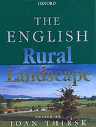 The English rural landscape