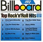 Billboard top rock 'n' roll hits, 1972
