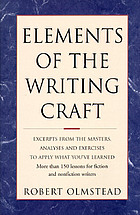 Elements of the writing craft / Robert Olmstead.