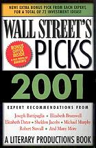Wall Street's picks 2001.