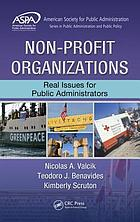 Non-profit organizations : real issues for Public Administrators