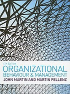 Organizational behaviour & management