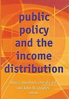 Public policy and the income distribution