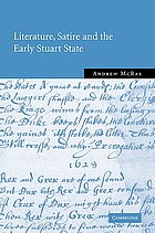 Literature, satire, and the early Stuart state